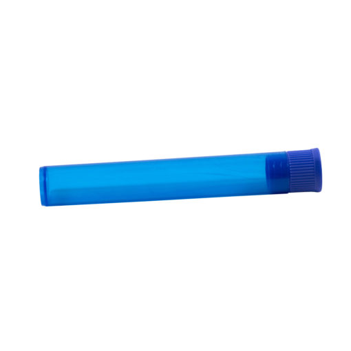 blue doob tube joint size dry storage container blue sample
