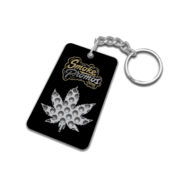 Weed Leaf Keychain grinders all over color decoration